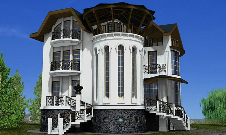 Элитный фасад: Как сделать роскошный фасад недорого в Крыму