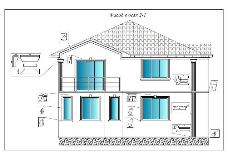 Дизайн проект дома в Лукоморье 1
