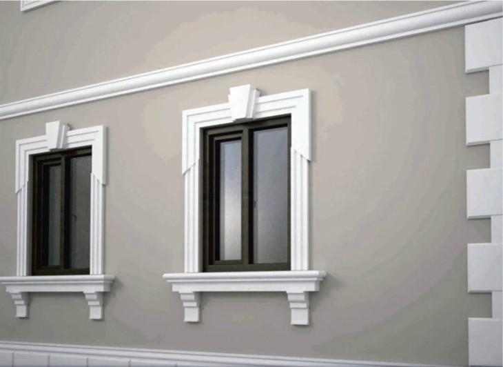 Декоративный фасад дома: Этапы оформления фасада