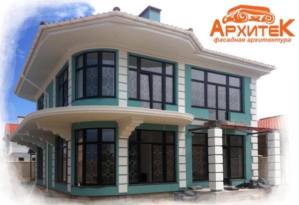Отделка фасада дома: Облицовка и декор