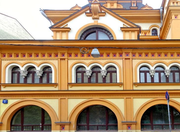 Фасадный декорСамый красивый фасад в Москве: Здания с особой магией для вдохновения