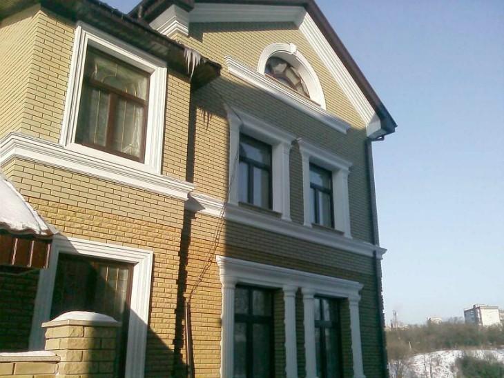 Фасадные панели из пенопласта: Украшаем дом и снижаем теплопотери