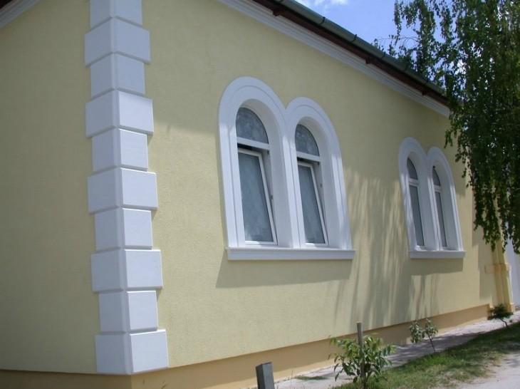 Декоративные элементы фасада из пенополистирола
