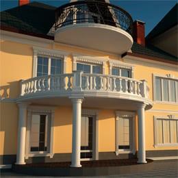 Фасадный декор в Котово: Пенопластовая лепнина – это не просто красиво, но и практично!